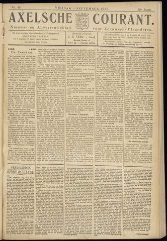 Axelsche Courant 1936-09-04