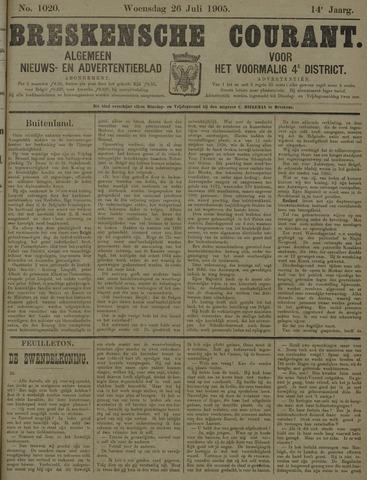 Breskensche Courant 1905-07-26