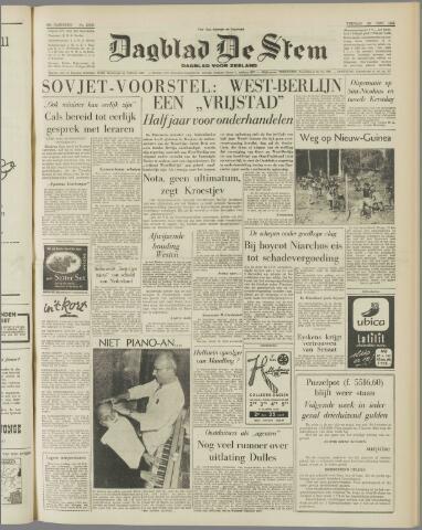 de Stem 1958-11-28