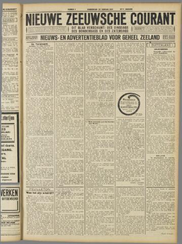 Nieuwe Zeeuwsche Courant 1931-01-22