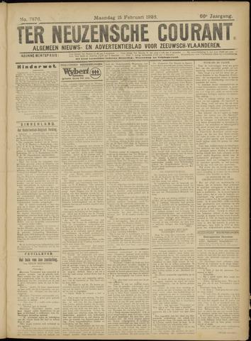 Ter Neuzensche Courant. Algemeen Nieuws- en Advertentieblad voor Zeeuwsch-Vlaanderen / Neuzensche Courant ... (idem) / (Algemeen) nieuws en advertentieblad voor Zeeuwsch-Vlaanderen 1926-02-15