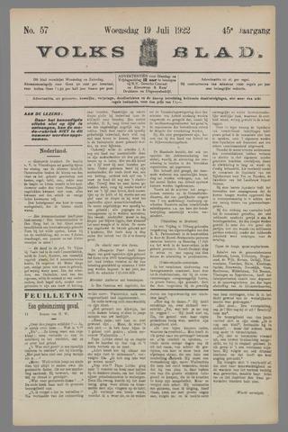 Volksblad 1922-07-19