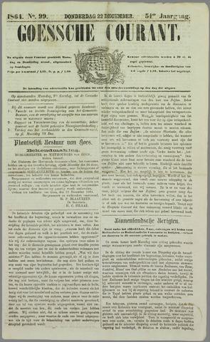 Goessche Courant 1864-12-22