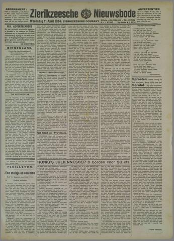 Zierikzeesche Nieuwsbode 1934-04-11