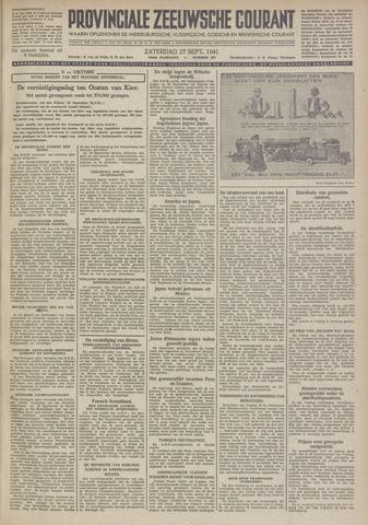 Provinciale Zeeuwse Courant 1941-09-27