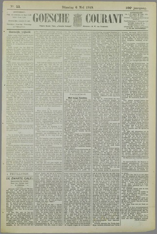 Goessche Courant 1919-05-06