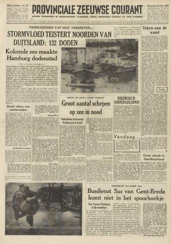 Provinciale Zeeuwse Courant 1962-02-19