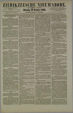 Zierikzeesche Nieuwsbode 1893-10-10