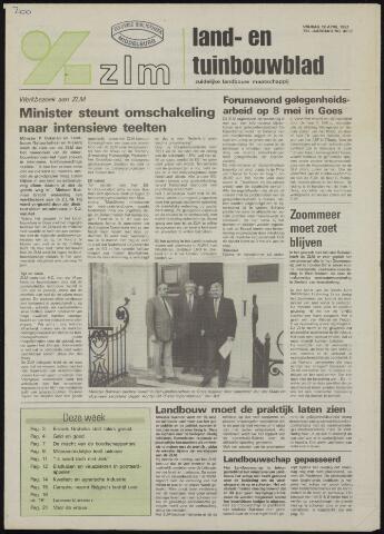 Zeeuwsch landbouwblad ... ZLM land- en tuinbouwblad 1991-04-19