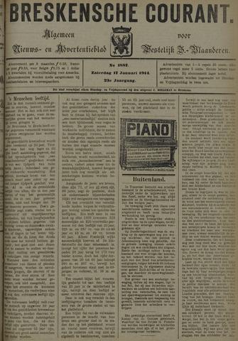 Breskensche Courant 1914-01-17