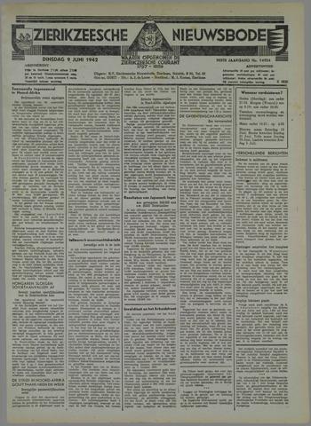 Zierikzeesche Nieuwsbode 1942-06-09