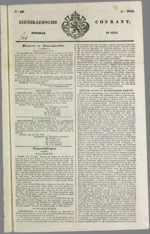 Zierikzeesche Courant 1844-07-23