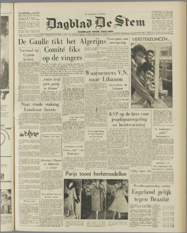 de Stem 1958-06-12