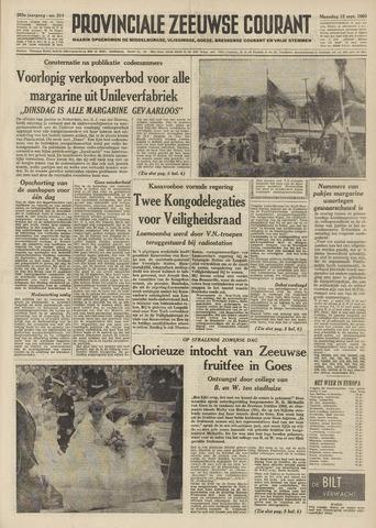 Provinciale Zeeuwse Courant 1960-09-12