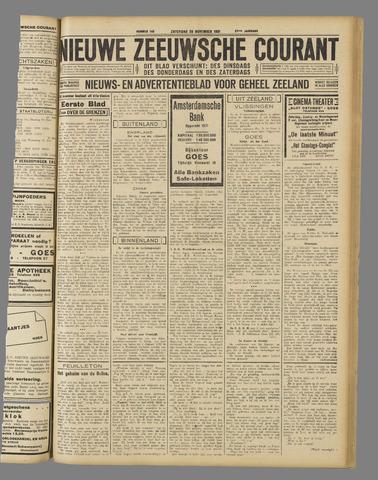Nieuwe Zeeuwsche Courant 1931-11-28
