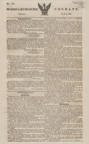 Middelburgsche Courant 1834-07-22