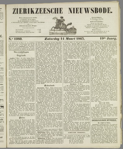Zierikzeesche Nieuwsbode 1863-03-14