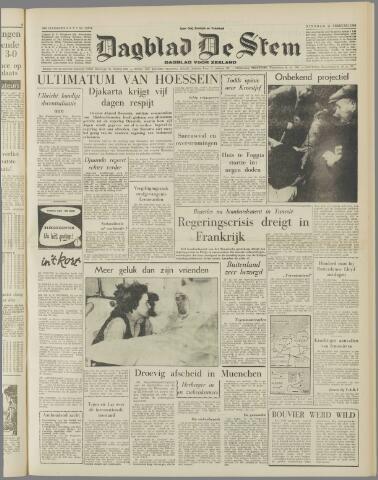 de Stem 1958-02-11