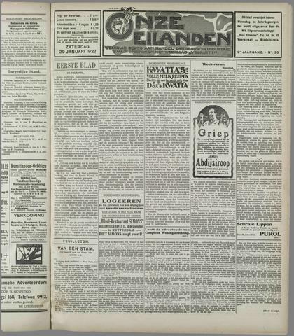 Onze Eilanden 1927-01-29