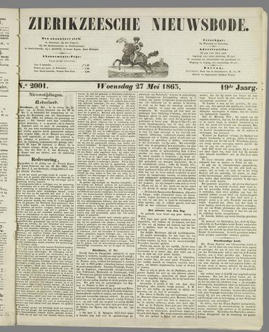 Zierikzeesche Nieuwsbode 1863-05-27