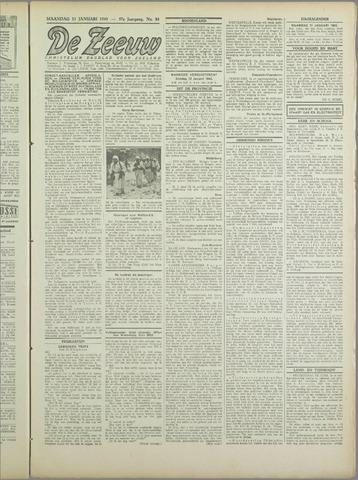 De Zeeuw. Christelijk-historisch nieuwsblad voor Zeeland 1943-01-11
