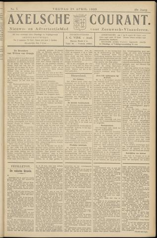 Axelsche Courant 1933-04-28