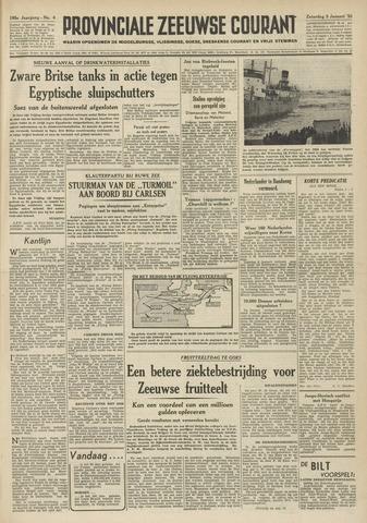 Provinciale Zeeuwse Courant 1952-01-05