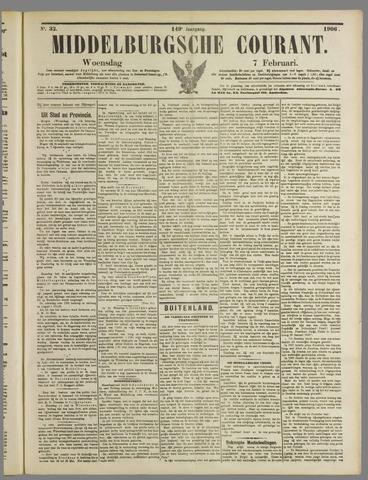Middelburgsche Courant 1906-02-07