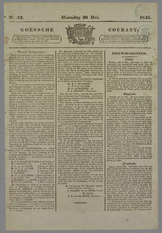 Goessche Courant 1845-05-26