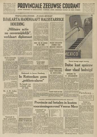 Provinciale Zeeuwse Courant 1962-04-02