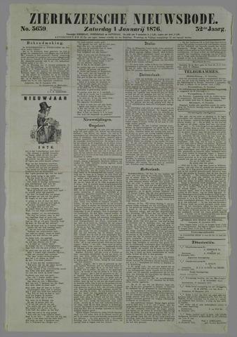 Zierikzeesche Nieuwsbode 1876