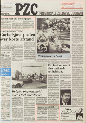 Provinciale Zeeuwse Courant 1987-04-11