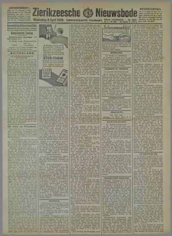 Zierikzeesche Nieuwsbode 1930-04-09