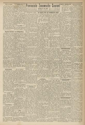 Provinciale Zeeuwse Courant 1945-07-21