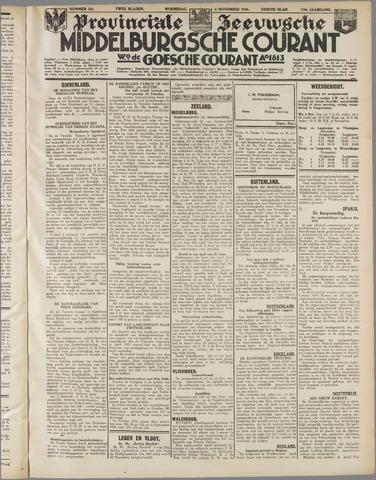 Middelburgsche Courant 1936-11-04