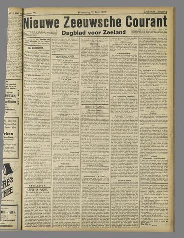 Nieuwe Zeeuwsche Courant 1920-05-12