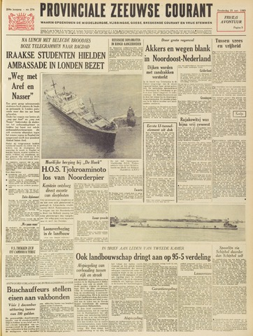 Provinciale Zeeuwse Courant 1963-11-21
