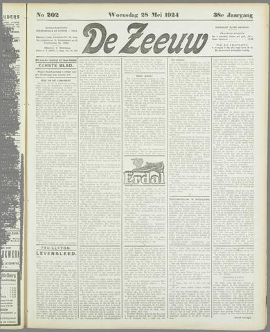 De Zeeuw. Christelijk-historisch nieuwsblad voor Zeeland 1924-05-28
