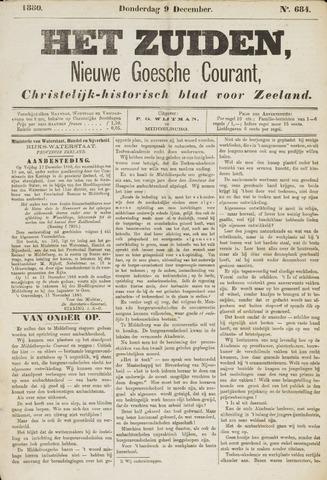 Het Zuiden, Christelijk-historisch blad 1880-12-09