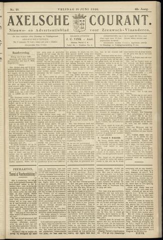 Axelsche Courant 1926-06-18