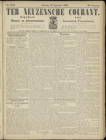Ter Neuzensche Courant. Algemeen Nieuws- en Advertentieblad voor Zeeuwsch-Vlaanderen / Neuzensche Courant ... (idem) / (Algemeen) nieuws en advertentieblad voor Zeeuwsch-Vlaanderen 1889-09-28