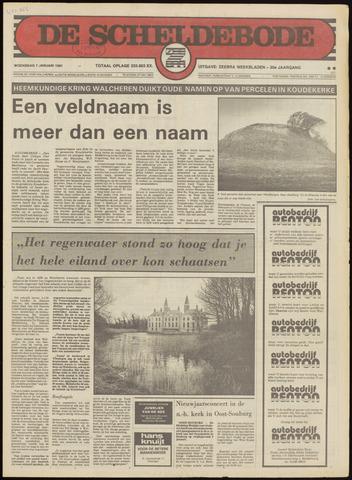 Scheldebode 1981