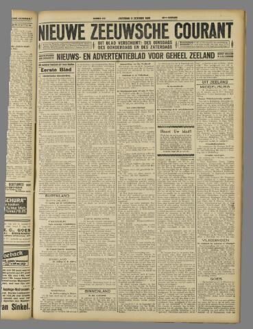 Nieuwe Zeeuwsche Courant 1926-10-09