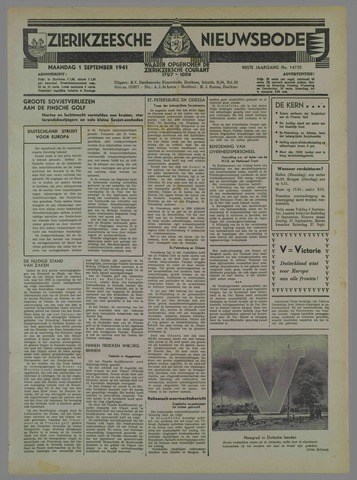 Zierikzeesche Nieuwsbode 1941-08-31