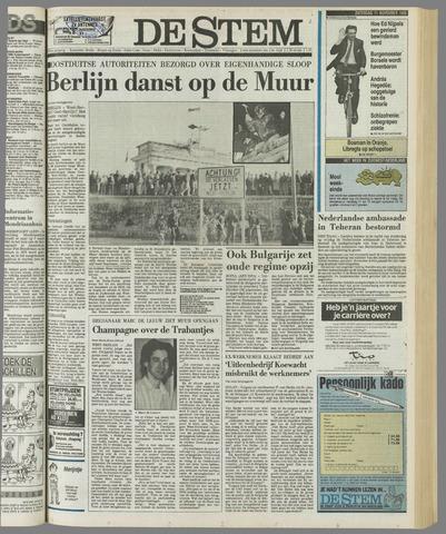 de Stem 1989-11-11
