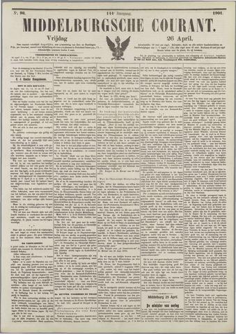 Middelburgsche Courant 1901-04-26
