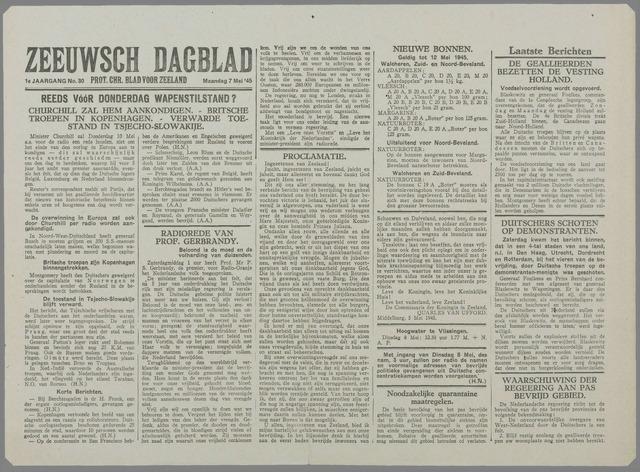Zeeuwsch Dagblad 1945-05-07