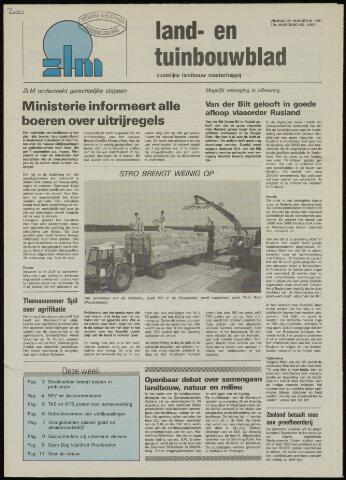 Zeeuwsch landbouwblad ... ZLM land- en tuinbouwblad 1991-08-23