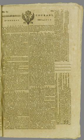 Middelburgsche Courant 1807-07-14