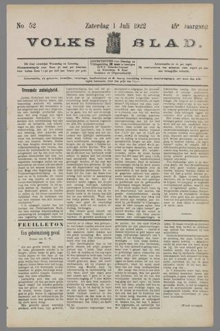 Volksblad 1922-07-01